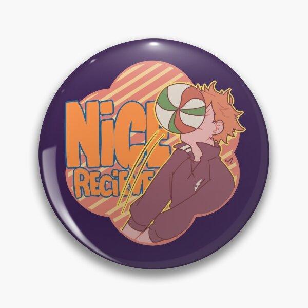 Nice recieve, Hinata Pin