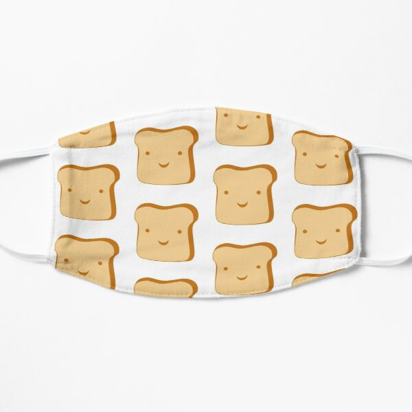 Happy Toast Flat Mask