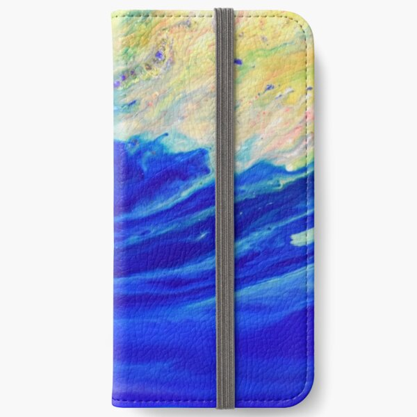 Magic wave iPhone Wallet