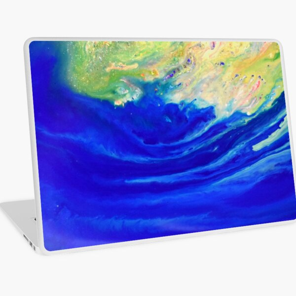 Magic wave Laptop Skin