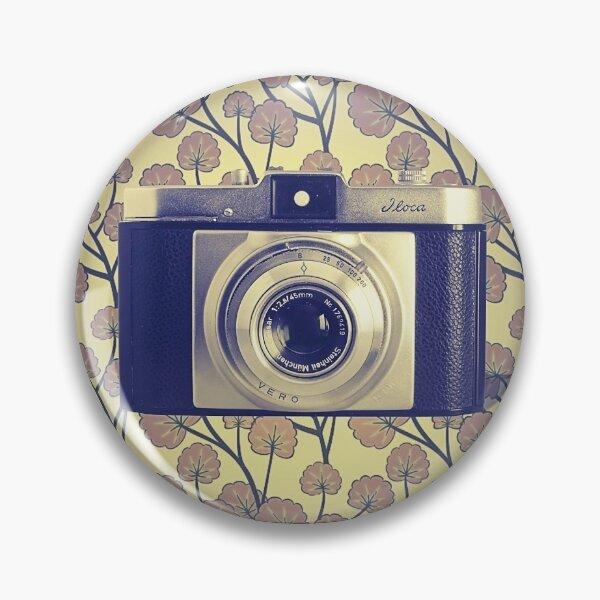 iLoca 35mm Camera Vintage Color Pin