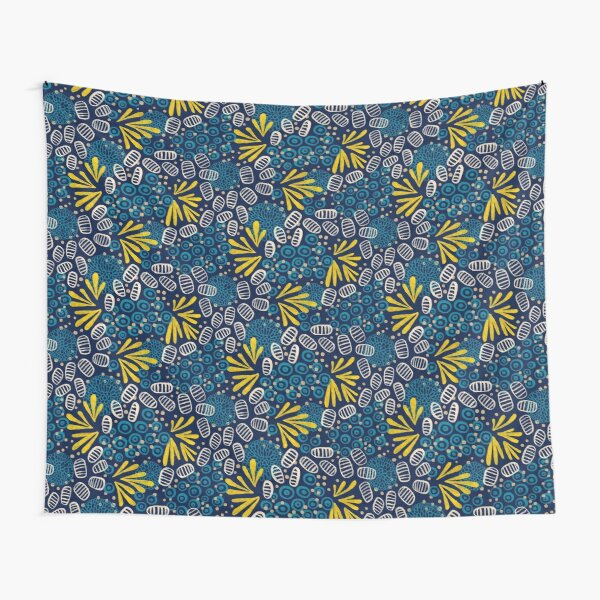 Petals and pods Tapestry