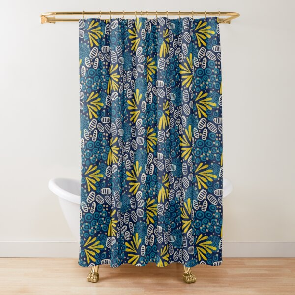Petals and pods Shower Curtain