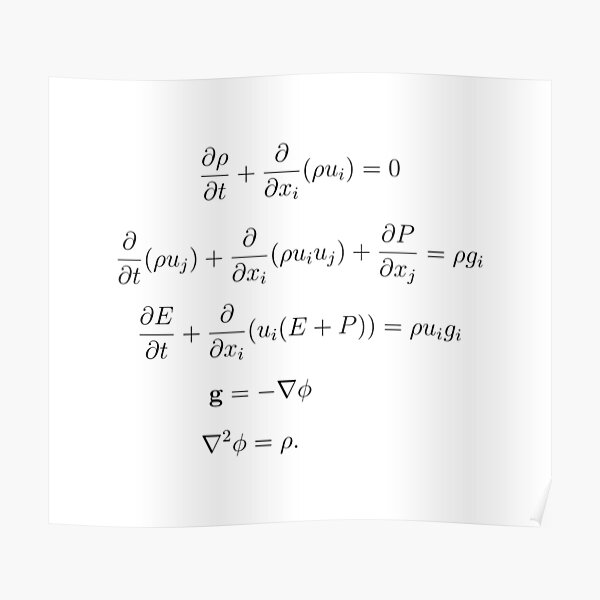 Gas Dynamics with Classical Gravitation Poster
