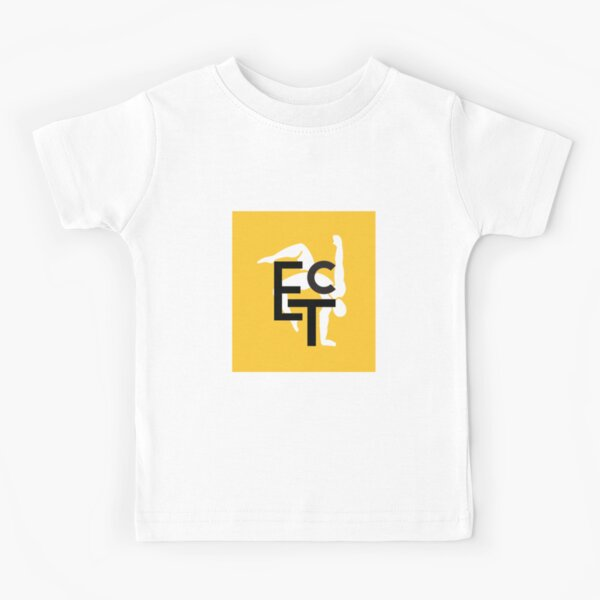 ETC Yellow logo Kids T-Shirt