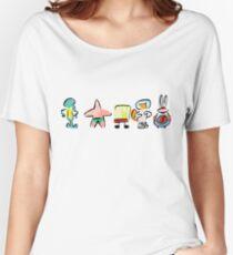 Sponge - Minimal - Digital Repaint Women's Relaxed Fit T-Shirt