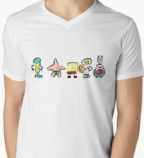 Sponge - Minimal - Digital Repaint T-Shirt
