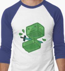 Slaying a slime Men's Baseball ¾ T-Shirt