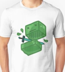 Slaying a slime Unisex T-Shirt