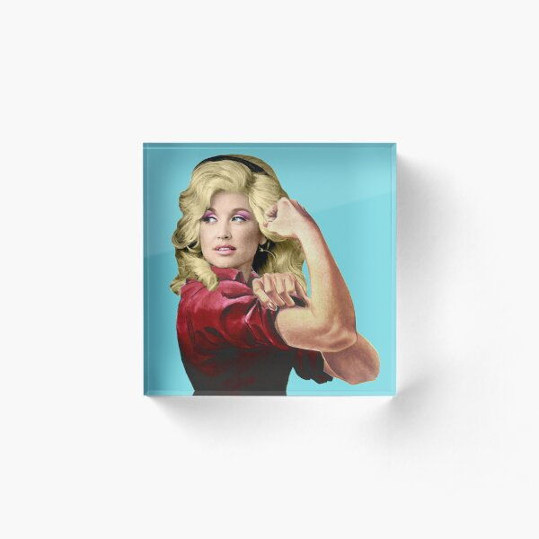 Dolly the Riveter 2 Acrylic Block