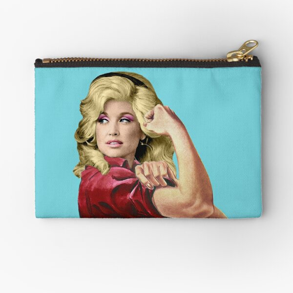 Dolly the Riveter 2 Zipper Pouch