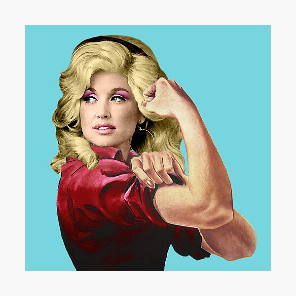Dolly the Riveter 2 Photographic Print