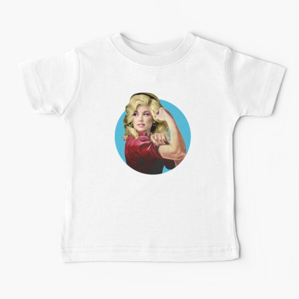 Dolly the Riveter 2 Baby T-Shirt