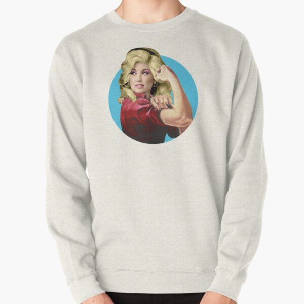Dolly the Riveter 2 Pullover Sweatshirt