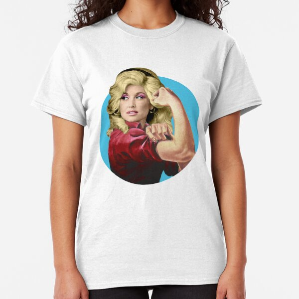 Dolly the Riveter 2 Classic T-Shirt