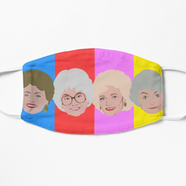 The Golden Girls in Color Mask