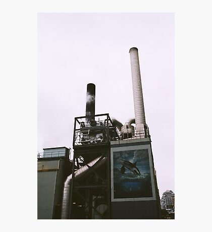 Seattle Steam Company Photographic Print