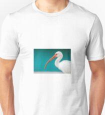White Ibis (Eudocimus albus) Unisex T-Shirt