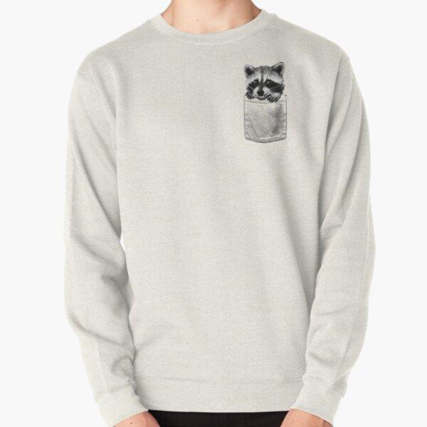 Raccoon Pullover Sweatshirt