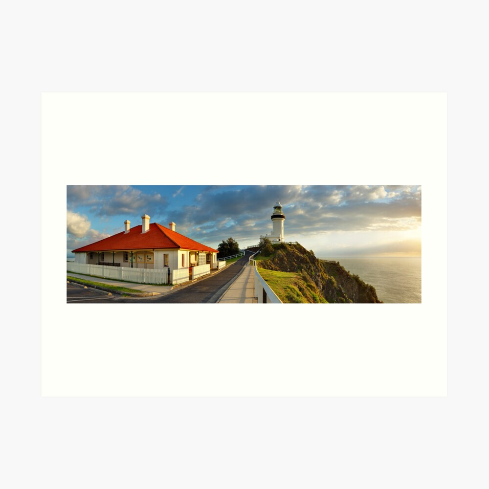 Cape Byron Lighthouse, New South Wales, Australia Art Print