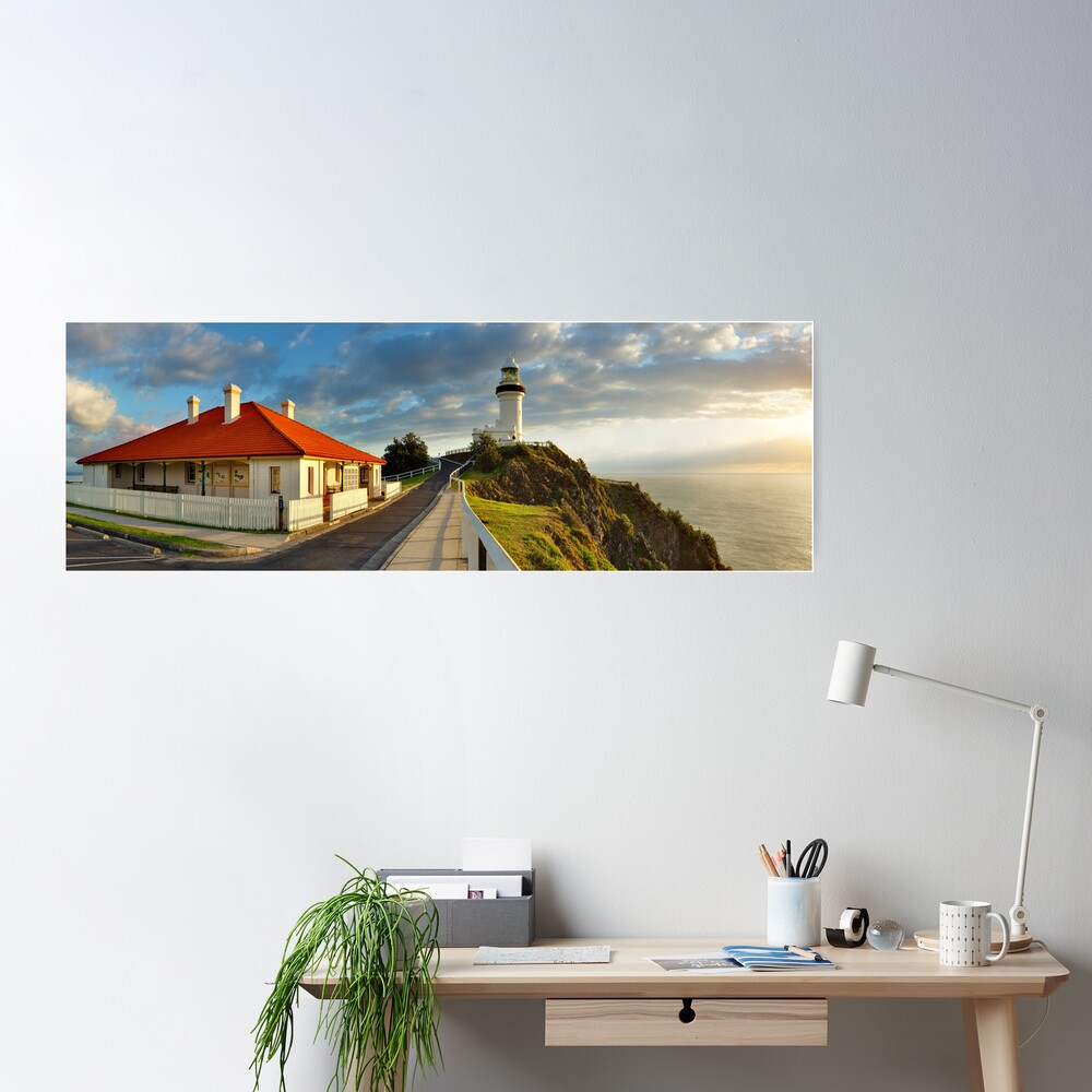 Cape Byron Lighthouse, New South Wales, Australia Poster