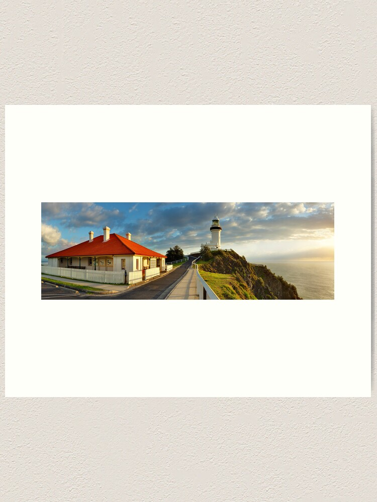 Alternate view of Cape Byron Lighthouse, New South Wales, Australia Art Print