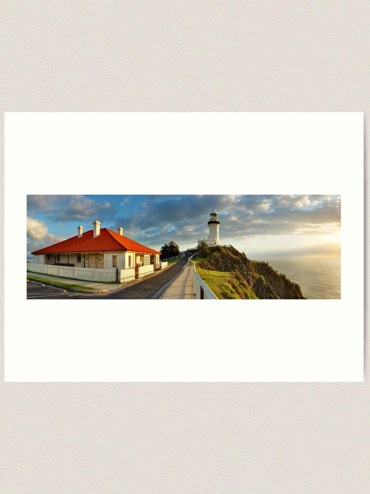 Alternate view of Cape Byron Lighthouse, New South Wales, Australia Art Print