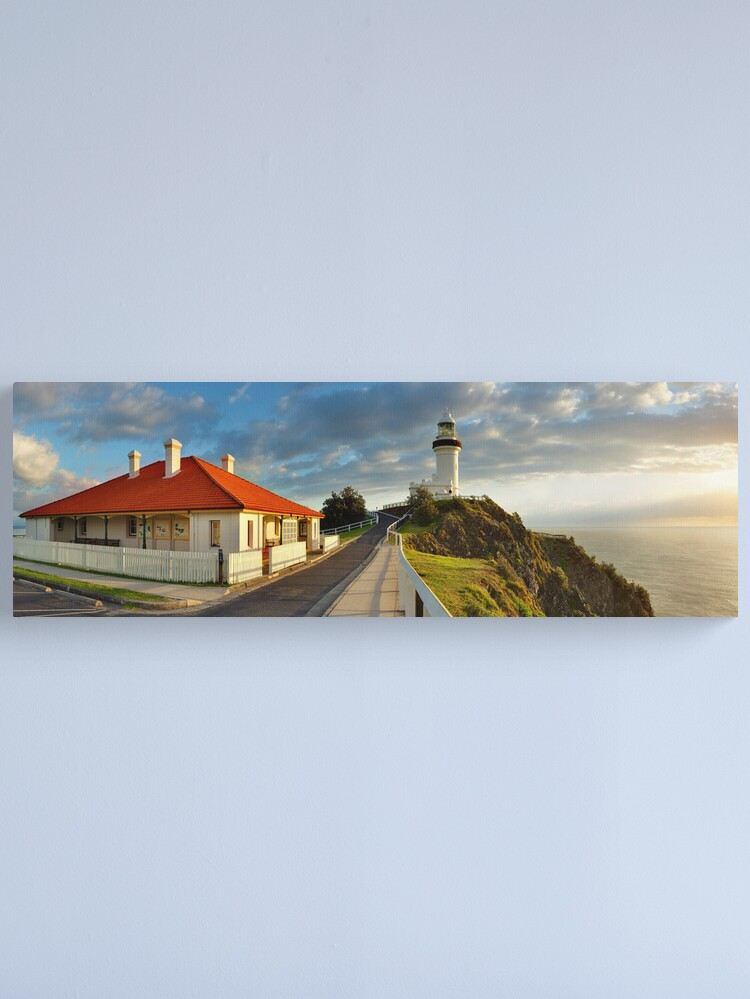 Alternate view of Cape Byron Lighthouse, New South Wales, Australia Canvas Print