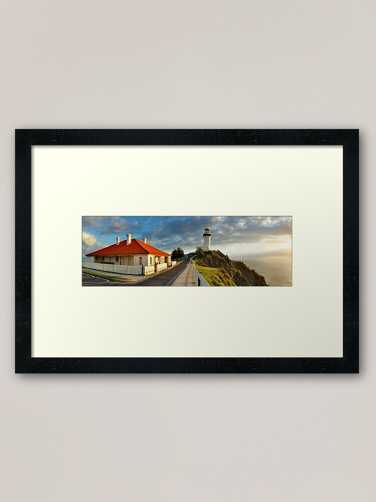 Alternate view of Cape Byron Lighthouse, New South Wales, Australia Framed Art Print