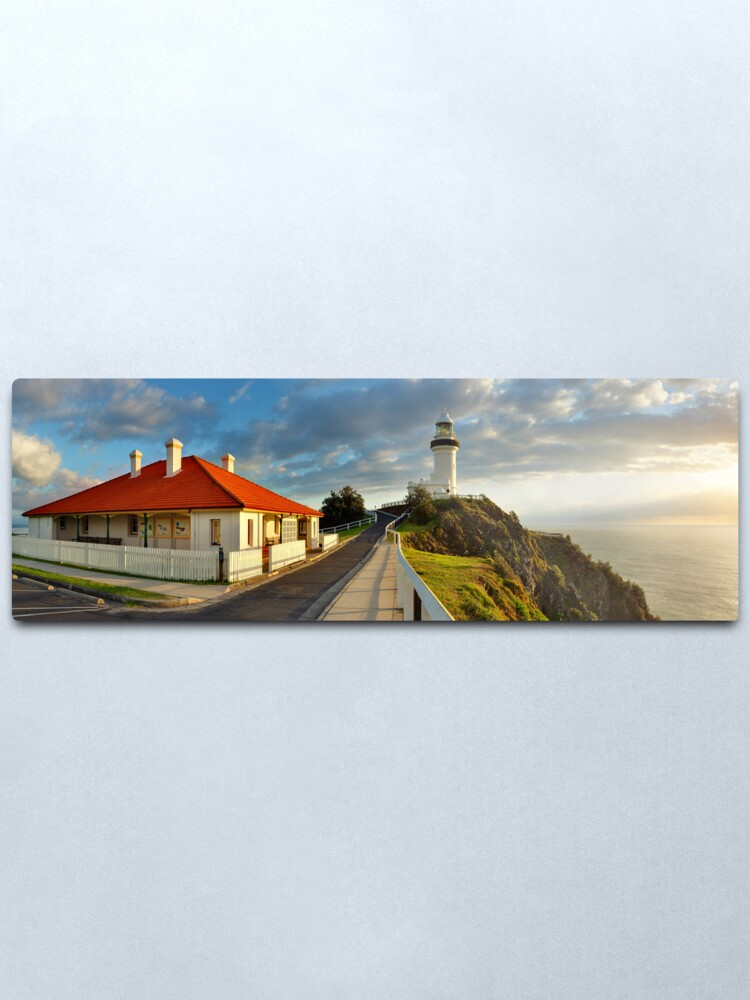 Alternate view of Cape Byron Lighthouse, New South Wales, Australia Metal Print