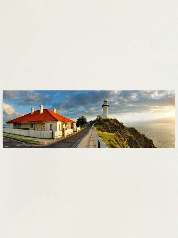 Alternate view of Cape Byron Lighthouse, New South Wales, Australia Photographic Print