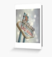 Welcome to Fabulous Las Vegas Greeting Card