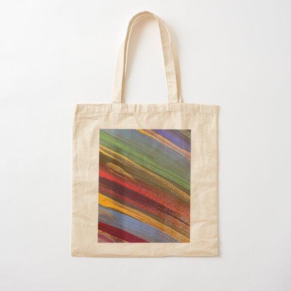 Stripes Cotton Tote Bag