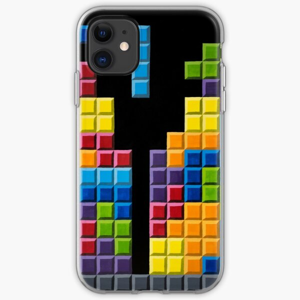 Blocks iPhone Soft Case