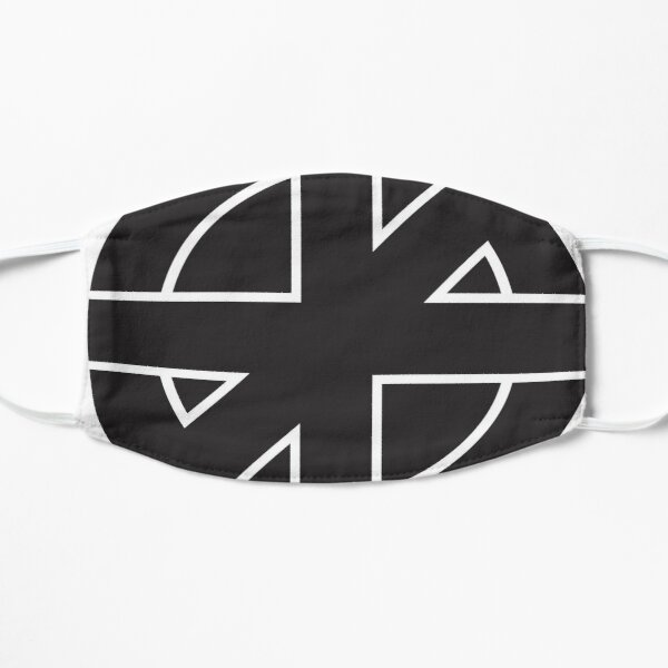 Classic Punk Crass Logo  Mask