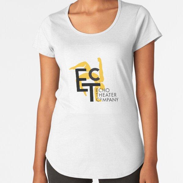 ETC logo with text Premium Scoop T-Shirt