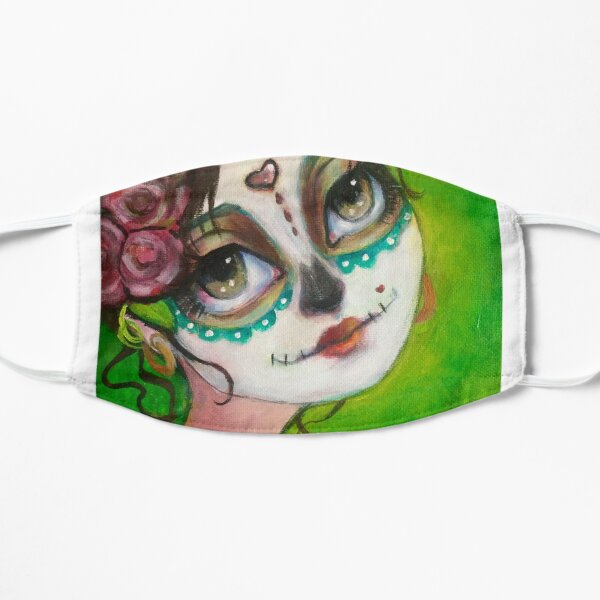 Dia de Los muertos beauty  Small Mask