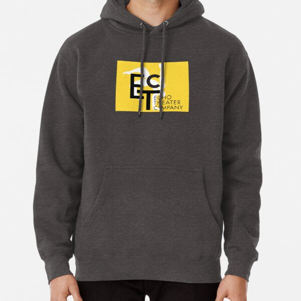 ETC Yellow Logo with text Pullover Hoodie