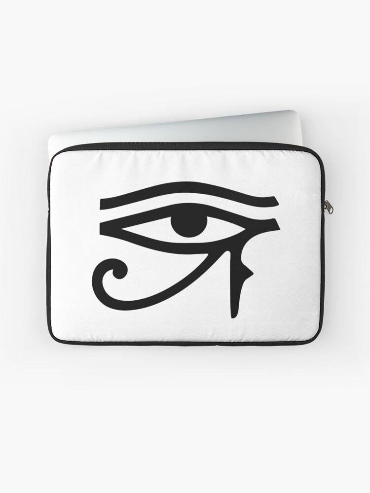 13 Inch Laptop Sleeve Egyptian Eye of Horus or Ra