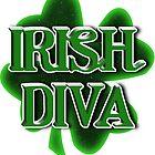 Irish Diva - St Patrick's Day  Clover by Gravityx9
