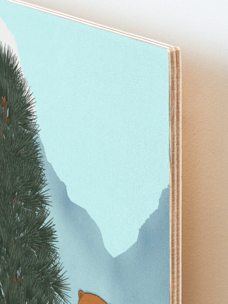 Alternate view of Oliver Finds His Christmas Tree Mounted Print
