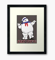 Stay Puft! Framed Print