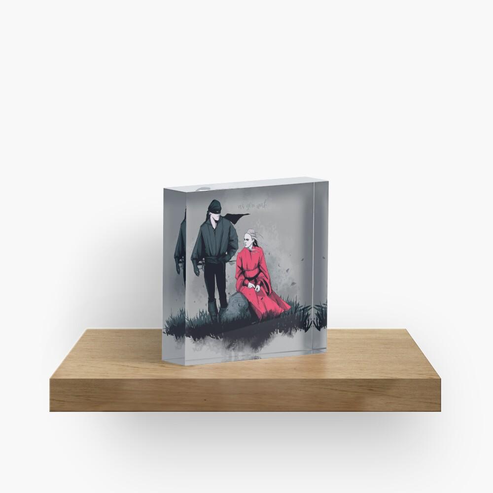 Pirate & Princess Acrylic Block