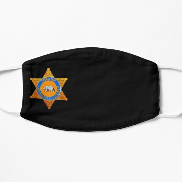 LASD Badge Mask Mask