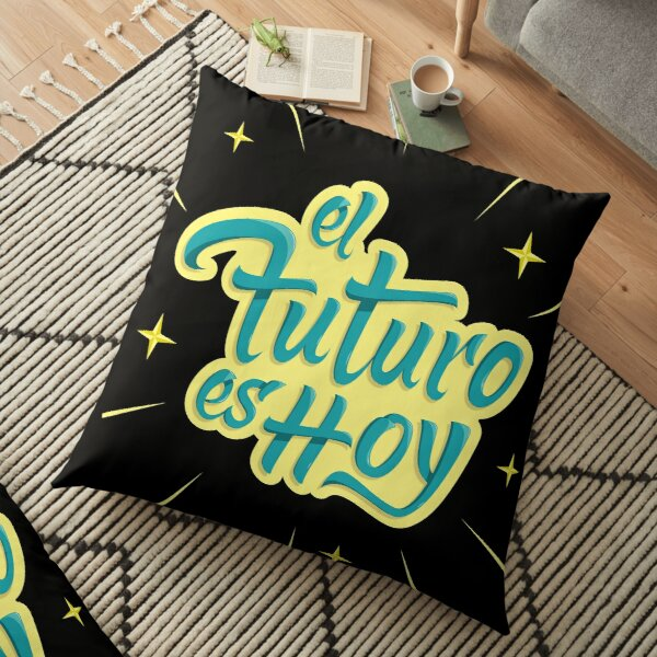 the Future is today  Floor Pillow