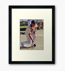 M.B.A. Bowler no. a304 Framed Print