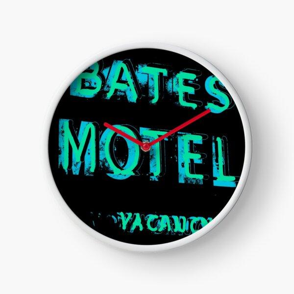 Bates Motel Clock