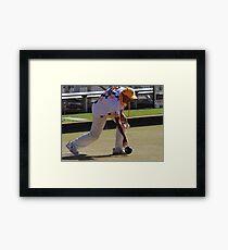 M.B.A. Bowler no. a358 Framed Print