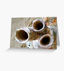 Kiln Pipes Greeting Card