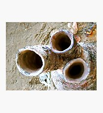 Kiln Pipes Photographic Print